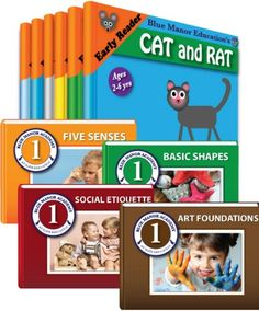 Early learning eBooks for kids, complete grade sets and subject sets including history, geography, Bible, beginning drawing and more!