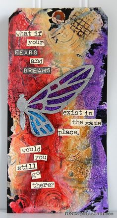 Ronda Palazzari Dreams & Fears Tag