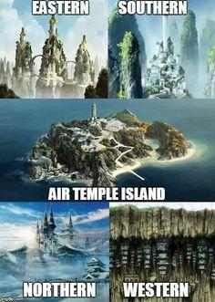 All da air temples!