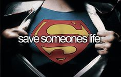 I am an organ donor but I hope to save a life before I die