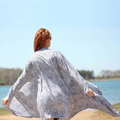 DIY Kimono Top [no pattern needed!] - Gina Michele