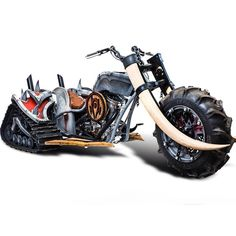 The Horde motorcycle from Azeroth Choppers. For the Horde! American Chopper, Custom Trikes, Custom Motorcycles, Cars And Motorcycles, Occ Choppers, Side Car, Trike Motorcycle, Classic Motors, Classic Cars