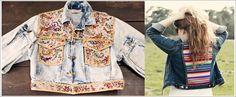 """Sabe aquela jaqueta jeans que você já tem faz tempo e acabou ficando desatualizada? A customização pode ser a solução! Para seguir a tendência do """"faça você mesma"""" não há segredos, basta procurar alguns tutoriais na internet para se inspirar ou colocar a criatividade em ação. Veja as dicas no blog da Farump!     http://www.farump.com.br/blog/index.php?id=65"""