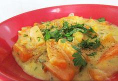 Pikáns sárgarépa-főzelék Mashed Potatoes, Chicken, Ethnic Recipes, Food, Diet, Cilantro, Whipped Potatoes, Smash Potatoes, Essen