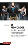55 Monologe für Kinder- und Jugendtheater   Taube   Buch (Cover)