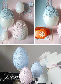 Easter Eggs DIY Passion Information about Lapins . - Easter Eggs DIY Passion About Lapins …. – Coté Passion Pin You - Easter Egg Crafts, Easter Eggs, Diy For Kids, Crafts For Kids, Diy Ostern, Egg Decorating, Happy Easter, Diy And Crafts, Diy Flower