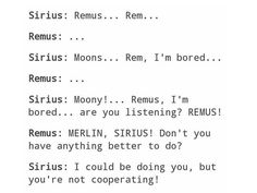 Remus would completely give in, convince me otherwise Harry Potter Feels, Gay Harry Potter, Harry Potter Marauders, Harry Potter Ships, Harry Potter Universal, Harry Potter Hogwarts, Marauders Era, Remus And Sirius, Remus Lupin