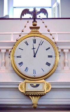 My kind of clock. thefullerview: Old South Meeting House - Boston (by malcolm bull) Charles Eames, Sistema Solar, Big Clocks, Waiting In The Wings, World Street, Unusual Clocks, Father Time, Still Photography, Time Clock
