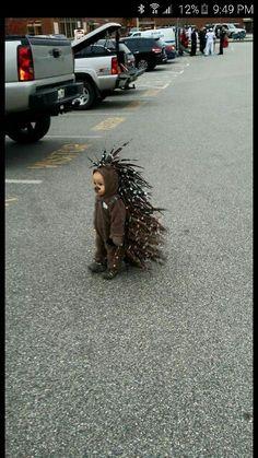 Porcupine Halloween costume