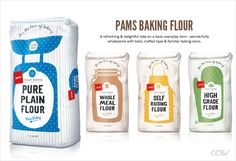 Print campaigns is a type of in-your-face advertising where the possibility of the ad to resonate well with customers is high Print advertising Organic Packaging, Milk Packaging, Cookie Packaging, Food Packaging Design, Beverage Packaging, Packaging Design Inspiration, Brand Packaging, Flour Bakery, Supermarket Design