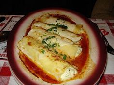 Buca di Beppo at Home: Cheese Manicotti