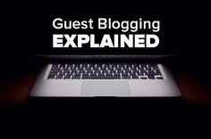 What Is Guest Blogging/Writing? And How To Find Guest Blogging Opportunities  Guest blogging is the writing of articles, blog posts or press releases for other websites.