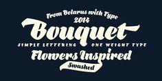 Bouquet (40% discount, 15,59€) - http://fontsdiscounts.com/bouquet-30-discount-27-30/