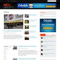 Neu WordPress Theme