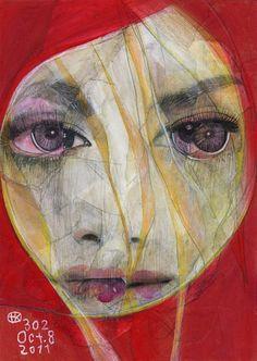 Takahiro Kimura - series of broken face portraits by Tokyo-based illustrator and collage artist. Portraits, Portrait Paintings, Portrait Art, Collage Artists, Face Design, Lomography, Japanese Artists, Fukuoka, Mixed Media Art