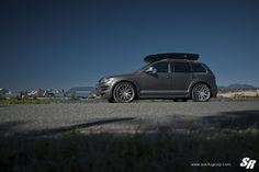 Take a look at the Imposing Gray VW Touareg Shod in Chrome Wheels photos and go back to customizing your vehicle with renewed passion. Touareg Vw, Chrome Wheels, Black Rims, Military Discounts, Us Images, Volkswagen, Gray, Vehicles, Gallery