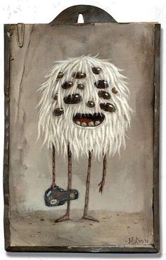 Mateo Dineen - Illustration - Monster - 2013
