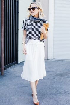 Stripes for the Win | Damsel In Dior