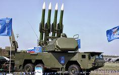 "RUSSIAN SURFACE TO AIR (SAM) MISSILE SYSTEM - BUK SA-6 ""GAINFUL"""