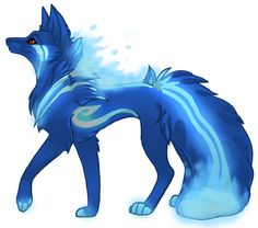 Custom canine- Topaz by =AinaShadox on deviantART