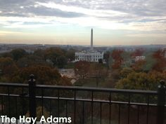 KiwiMegan: The view of the White House from The Hay Adams hotel. http://www.kiwicollection.com/blog/check-in-the-hay-adams-washington-dc/24379