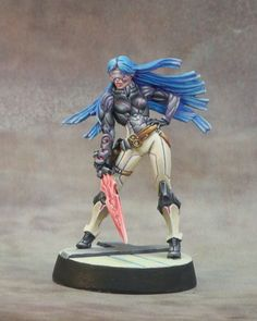 Aleph Myrmidon Hacker painted by Century (Justin) at Game Summit Forums.