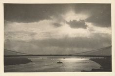 Paul Grotz (American (born Germany), 1902–1990). [The East River and the Brooklyn Bridge, Seen from the Span of the Manhattan Bridge, New York City], 1928–29. The Metropolitan Museum of Art, New York. Purchase, Mary Ann and Frank B. Arisman Gift, 2012 (2012.175.6) © Stefan Grotz #newyork #nyc