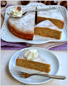 Torta di castagne/crema di marroni