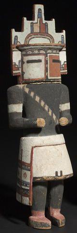 A Hopi kachina doll Hemis