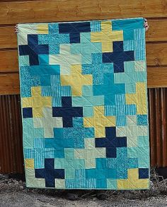 plus quilt by Lila Jo