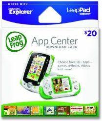LeapFrog App Center Card