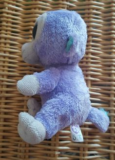 Rare Ty Beanie Boos Boo Soft Plush Toy Blueberry the Purple Monkey Approx  in Toys   Games 262ded9534ba