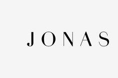 JONAS MATYASSY on Behance Bespoke font based on Didot