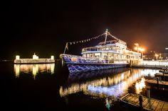 märchenhafte Schifffahrten am Wörthersee beim Veldener Advent - die Stadt der Engel Advent, City Of Angels, Places