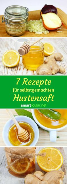 7 recipes for homemade cough syrup: naturally healing - You can safely save cough medicine from the pharmacy! Instead, take advantage of nature& heal - Allergy Asthma, Homemade Cough Syrup, Natural Asthma Remedies, Cough Medicine, Chest Congestion, Allergies, Ethnic Recipes, Hammer Toe, Diet