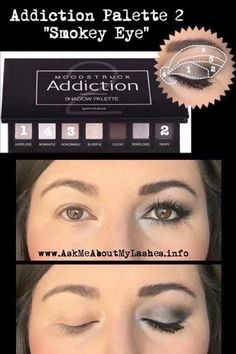 Younique addiction palette 2 look