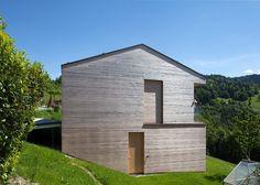 Maison familiale à Zwischenwasser en Autriche par le studio d'architecture dietrick | untertrifaller