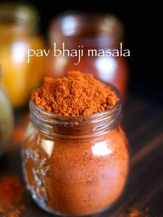 pav bhaji masala recipe, homemade pav bhaji masala powder with step by step photo/video. blend of spice that goes with mumbai's famous street food pav bhaji Masala Powder Recipe, Masala Recipe, Masala Pav Recipe Video, Pav Bhaji Recipe Video, Indian Snacks, Indian Food Recipes, Bbq Chicken Pizza, Gastronomia, Recipes