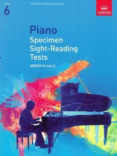 ABRSM Specimen Sight-Reading Tests for Piano (from 2009) Grade 6