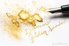 Goulet Pens Blog: Diamine Golden Sands: Ink review