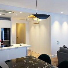 Reforma de piso - Barcelona. - Diseño y Decoración Casas White Colors, Apartments, Flats, Modern Flooring, Lighting Design, Modern Design, Architects