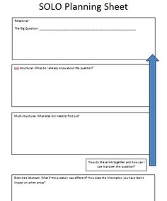 Using SOLO Taxonomy to answer extended answer questions- a really useful revision tool