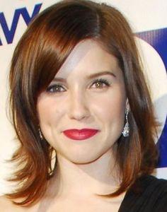 medium length hair styles for round faces women 1