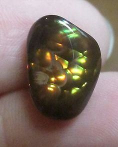 Fire Agates ~ Products ~ MEXICAN Fire Agate Gem All Natural Free Form Multi-colored 13x9.. ~ Shopify