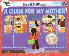 "Good book for kids that addresses socioeconomic issues in an age-appropriate and interesting way... ""After a fire destroys their home and possessions, Rosa, her mother, and grandmother save and save until they can afford to buy one big, comfortable chair that all three of them can enjoy."""