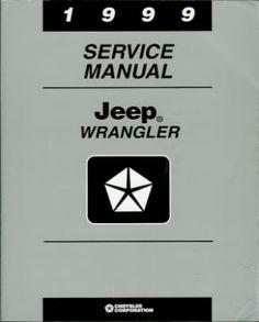 1999 Jeep Wrangler Service Manual
