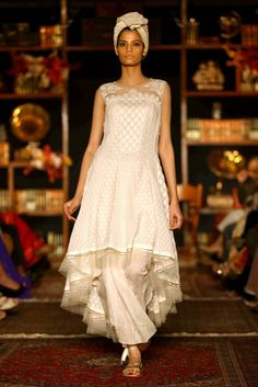 A look by Tarun Tahiliani at Lakmé Fashion Week. [Courtesy Photo]