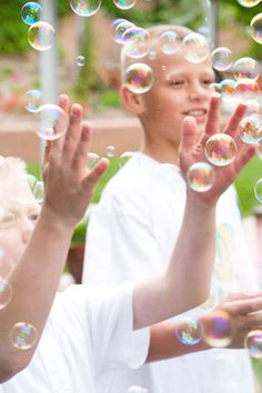 Bubble Party - Activity Ideas