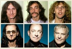 Rush, then and now.