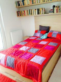 Realizované zakázky Comforters, Blanket, Furniture, Home Decor, Scrappy Quilts, Creature Comforts, Quilts, Decoration Home, Room Decor